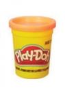 PlayDoh Tuba Pojedyncza na tacce, pomarańczowa (B6756/B7413)