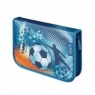 Piórnik dwuklapkowy z wyposażeniem Soccer