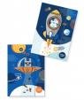 Teczka kartonowa na gumkę A4 Happy Color - Space (406669)mix wzorów
