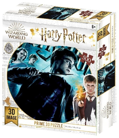 Harry Potter Magiczne puzzle