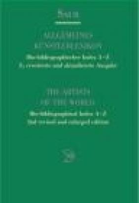 Artists World Bio-Biblio v 1 Index A-Z (Englisch) 2e