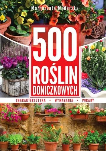 500 roślin doniczkowych Mederska Małgorzata
