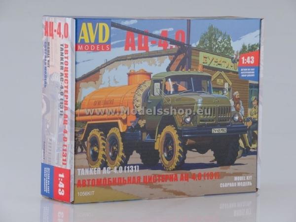Tanker Truck AC-4,0 (ZIL-131) (model kit) (KIT1056)