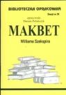 Biblioteczka Opracowań Makbet Williama Szekspira