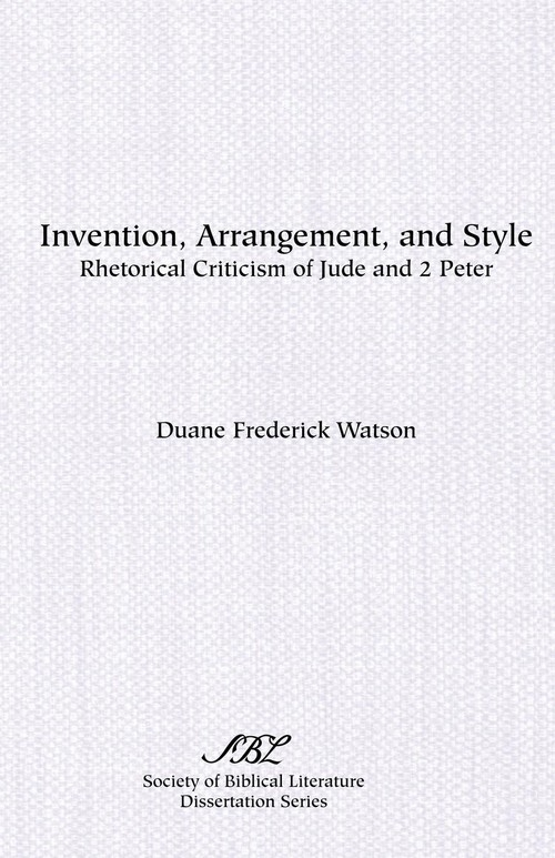 Invention, Arrangement, and Style Watson Duane Frederick