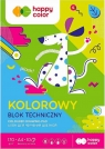 Blok techniczny kolorowy Happy Color A4, 10 arkuszy (HA 3717 2030-M09)