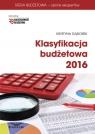 Klasyfikacja budżetowa 2016  Gąsiorek Krystyna