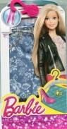 Barbie Ubranko spodnie dla Barbie niebieskie w kwiatki