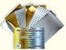 Wycinanka samoprzylepna A4 gold & silver
