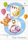 Karnet 3 urodziny HM-200-983