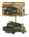 Klocki Best Lock 49 elementów Humvee Military