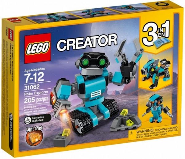 Creator Robot Odkrywca (31062)