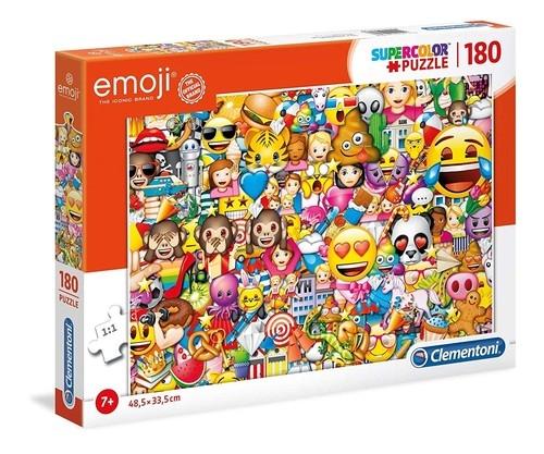 Puzzle Supercolor Emoji 180