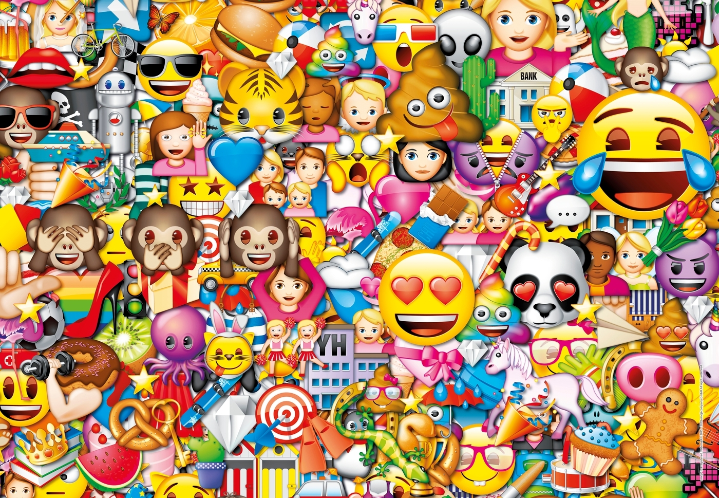 Puzzle SuperColor 180: Emoji (29756)