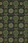 Papiery ozdobne India ornament - zielony 20x29 cm 10 arkuszy