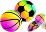Gumowe Piłki Zestaw Kolorowe Piłeczki 15 cm 2 sztuki