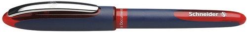 Pióro kulkowe Schneider One Business, 0,6 mm, czerwony