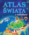 Atlas świata z naklejkami6-8 lat Langowska Mariola, Warzecha Teresa