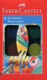 Farby wodne 8 kolorów (125008)