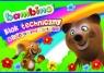 Blok techniczny A4 Bambino z kolorowymi kartkami 10 kartek