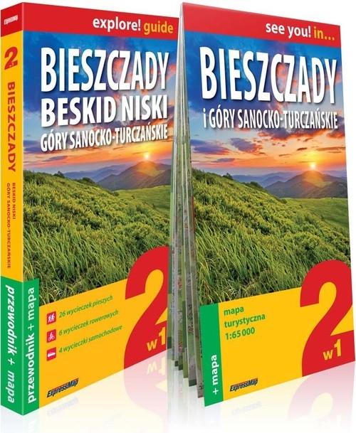 Bieszczady, Beskid Niski, Góry Sanocko-Turczańskie explore! guide