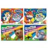 Blok techniczny Bambino A4/10 z kolorowymi kartkami mix wzorów