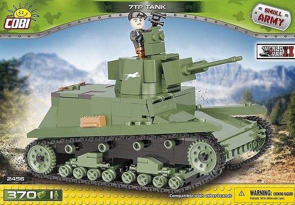Cobi: Mała Armia. Polski lekki czołg 7TP (2456)