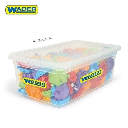 Klocki puzzle 120 elementów w boxie (41600)