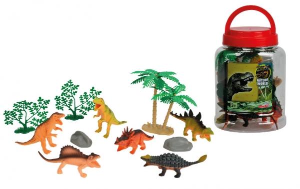 104341756 Zestaw dinozaurów w pojemniku