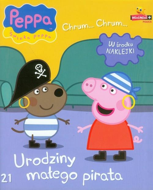Świnka Peppa Chrum Chrum 21 Urodziny małego pirata