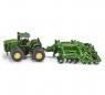 Siku Farmer - Traktor John Deere 9630 z agregatem uprawowym Amazone (S1856)