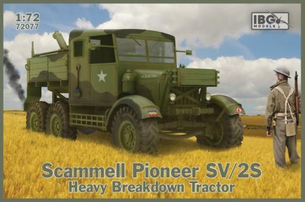 Plastikowy model Scammell Pioneer SV/2S Heavy Breakdown Tractor (72077)