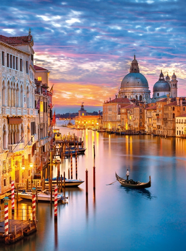 Clementoni, puzzle High Quality Collection 500: Lighting Venice (35056)