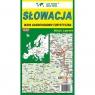 Słowacja mapa samochodowo-turystyczna