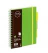 Kołobrulion A5/100K kratka zielony GRAND