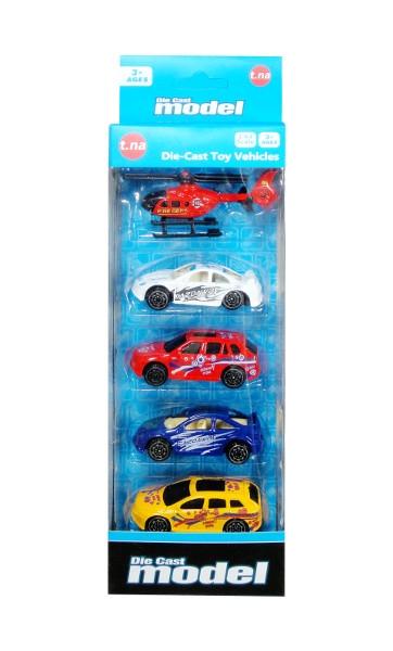 5 pojazdów
