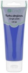 Farba akrylowa, 120 ml - cobalt blue (DPFA-072)