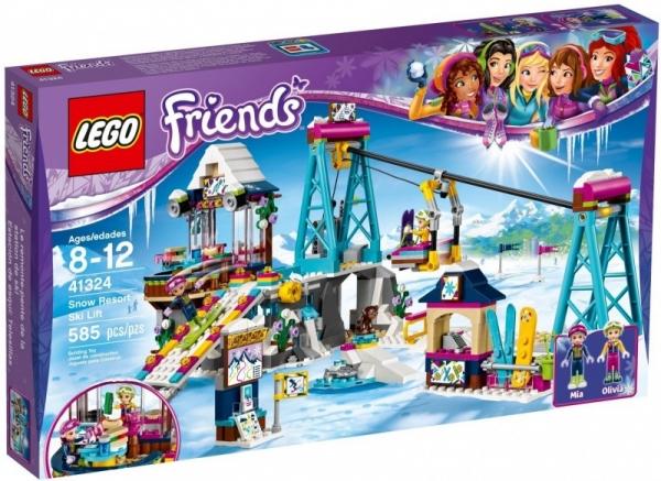Lego Friends: Wyciąg narciarski w zimowym kurorcie (41324)