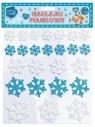 Naklejki piankowe śnieżynki (25 sztuk) (103-0006)