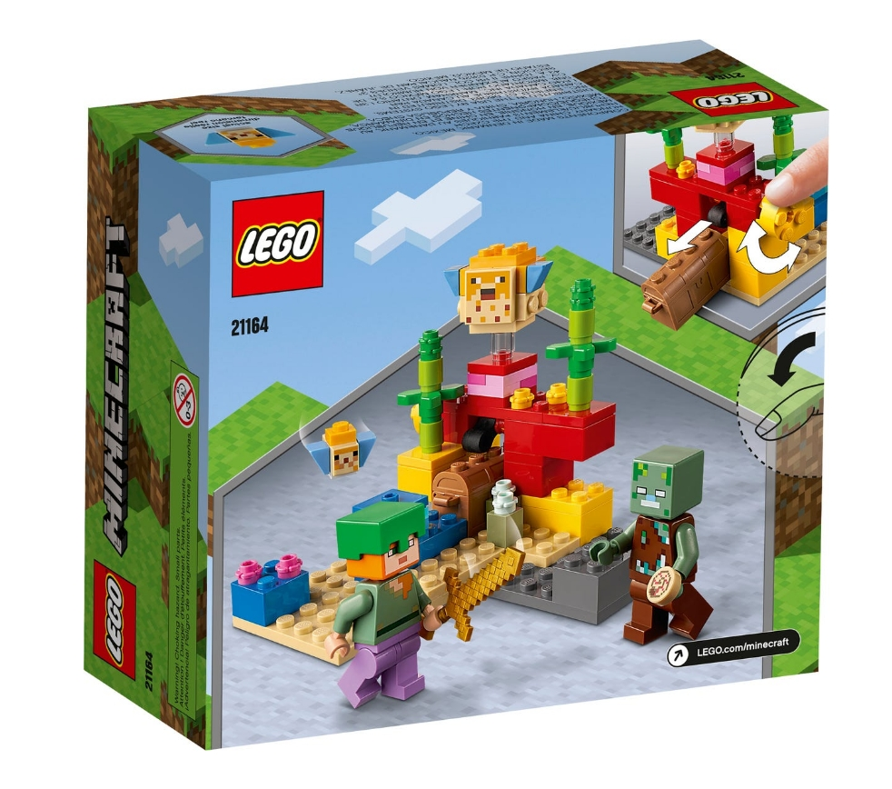 Lego Minecraft: Rafa koralowa (21164)