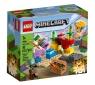 Lego Minecraft: Rafa koralowa (21164) Wiek: 7+