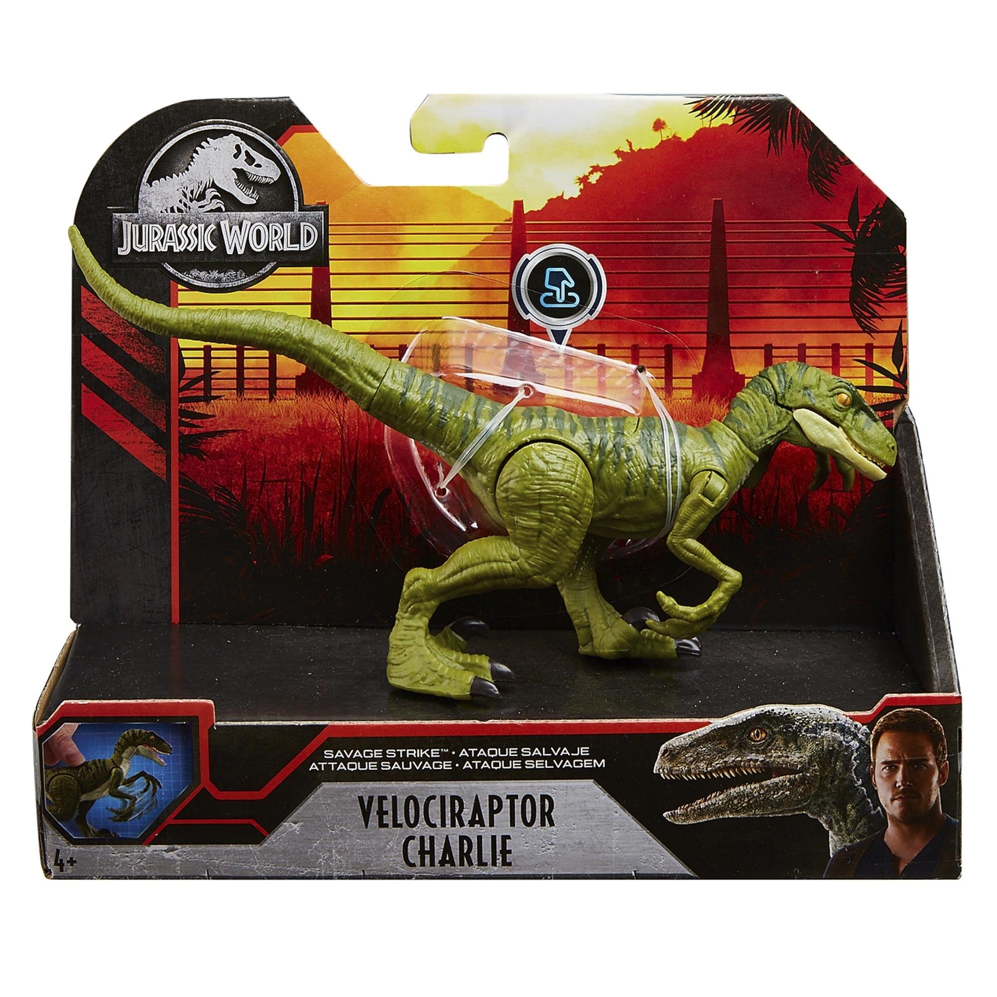 Jurassic World: Ryk bojowy - Welociraptor Charlie  (GCR54/GJN92)