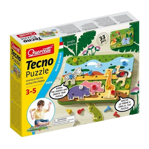 Tecno puzzle Dżungla Sawanna (0556)