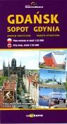 Gdańsk Sopot Gdynia plan miasta 1:25 000