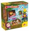 Masza i Niedźwiedź - Zestaw gier edukacyjnych (304-PL78011) Wiek: 2+