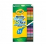 Flamastry spieralne 24 kolory CRAYOLA