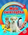 Małe zwierzątka oraz zwierzęce naklejanki. 2 książki z naklejkami w 1