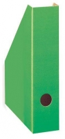 Pojemnik A4 na czasopisma/dokumenty 7cm karton zielony
