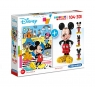 Puzzle SuperColor 104 + 3D model Mickey Mouse (20157)Wiek: 6+