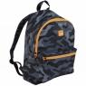 Plecak duży MILAN 21l Black Camouflage Eco czarno-pomarańczowy (624605BM)